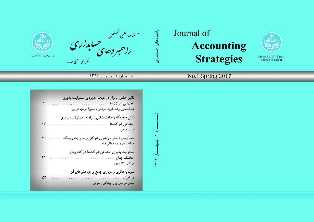 نشریه دانشجویی راهبردهای حسابداری